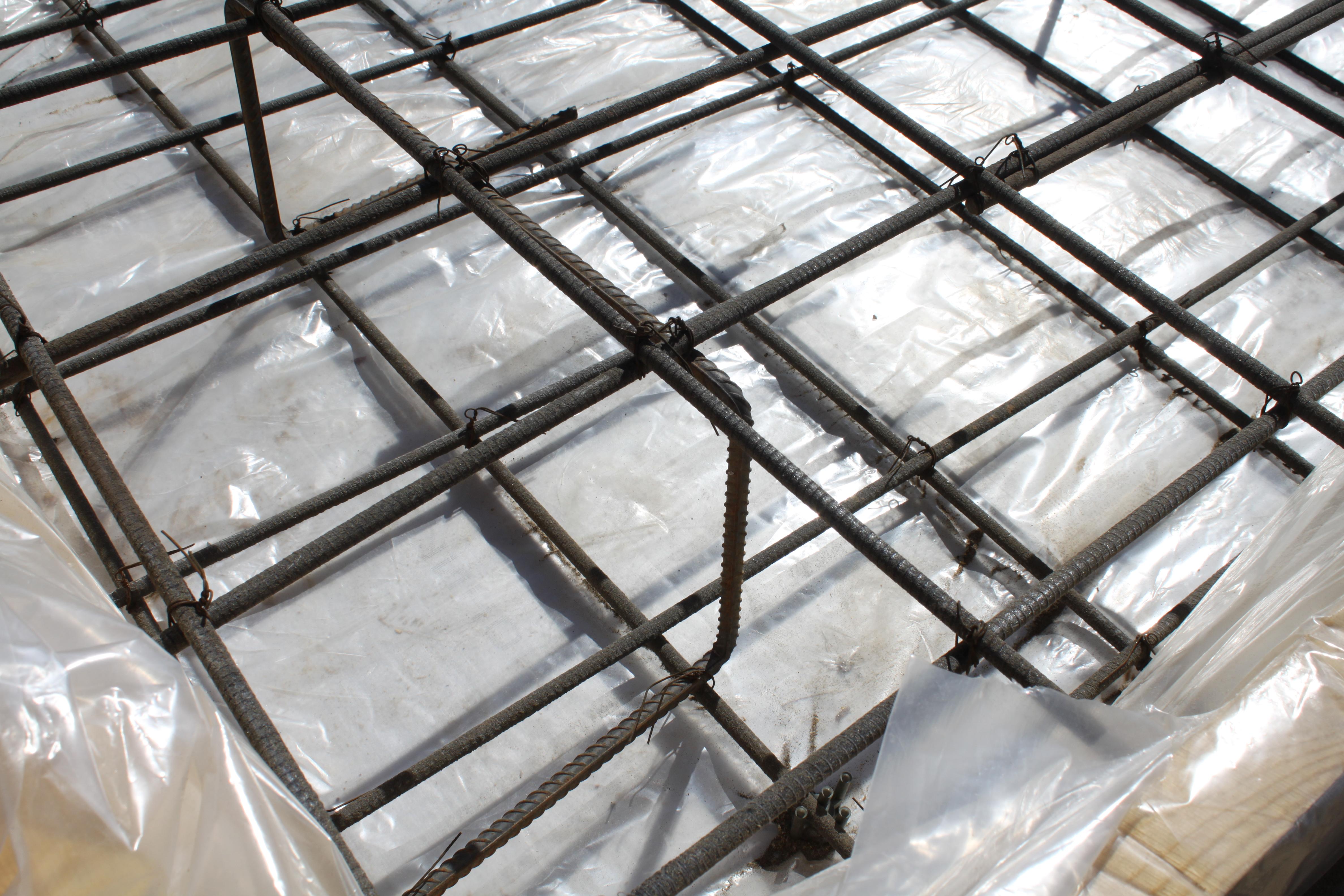 Как сделать каркас из стеклопластиковой арматуры