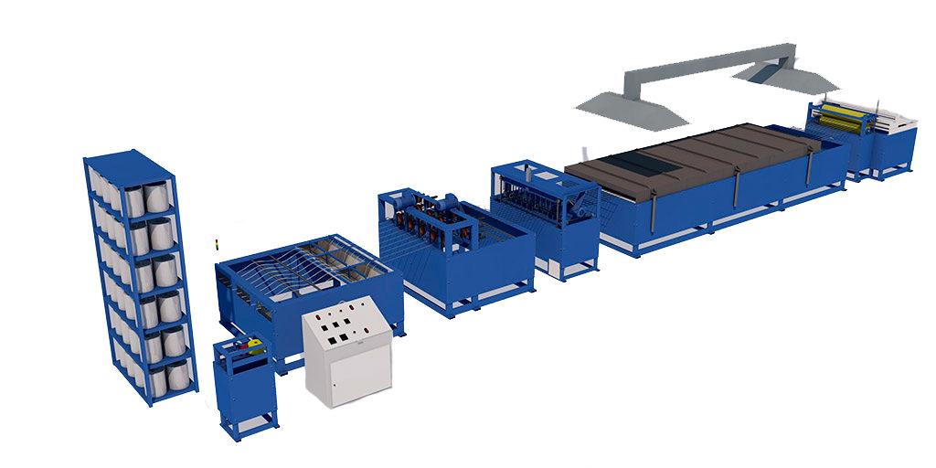 Оборудование для производства стеклопластиковой сетки комплектация